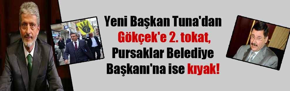 Yeni Başkan Tuna'dan Gökçek'e 2. tokat, Pursaklar Belediye Başkanı'na ise kıyak!