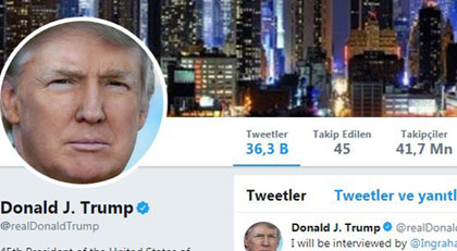 Twitter Trump'ı kapattı
