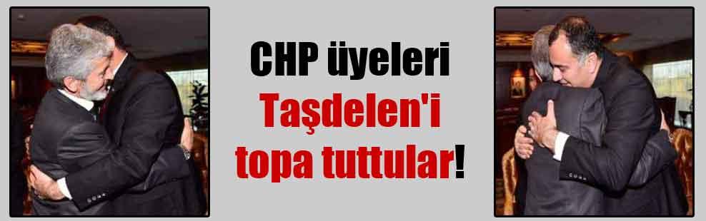 CHP üyeleri Taşdelen'i topa tuttular!