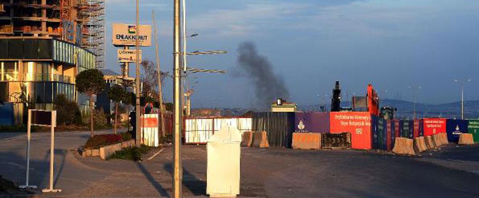 Zeytinburnu'nda top mermisi imhası: Sahil yolu trafiğe kapatıldı