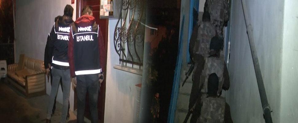 Sancaktepe'de uyuşturucu operasyonu