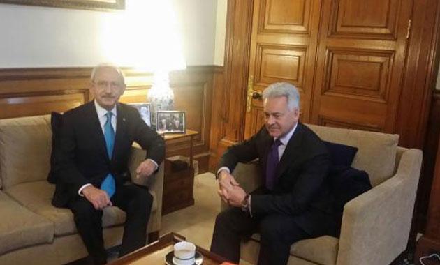 Kılıçdaroğlu Londra'da ilk toplantısını gerçekleştirdi