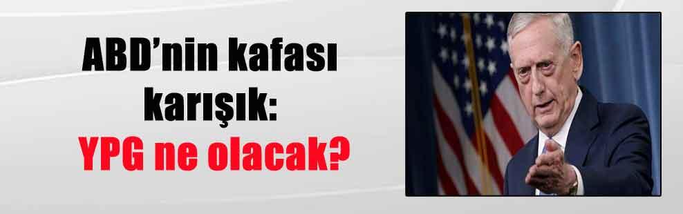 ABD'nin kafası karışık: YPG ne olacak?