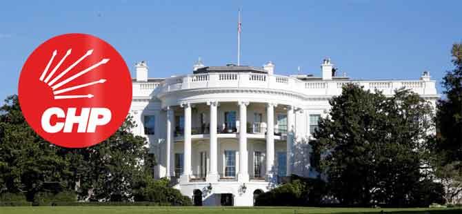 CHP, Beyaz Saray'da!