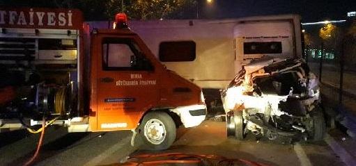 Bursa'da zincirleme kaza: 4 ölü, 10 yaralı