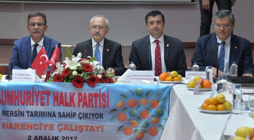 Kılıçdaroğlu, Mersin'de üreticilerin sorunlarını dinledi