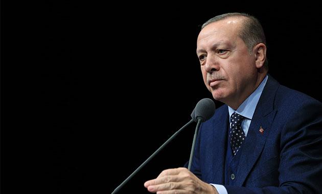 Erdoğan: Bizi silah ambargosuyla tehdit edenler…