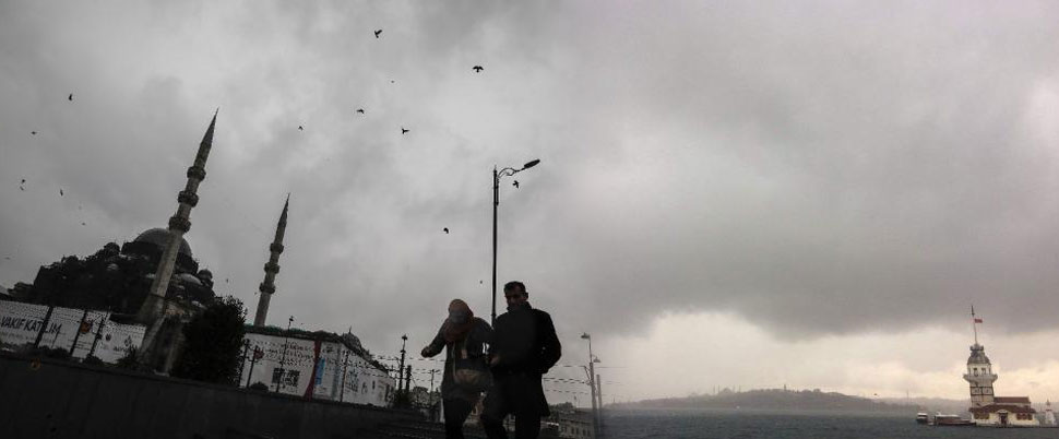 İstanbul'a fırtına uyarısı…