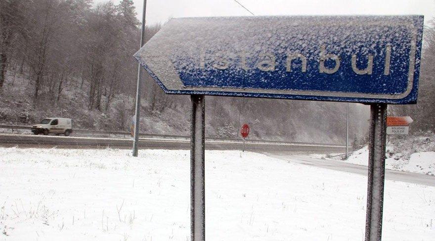 İstanbul'da ilk kar!