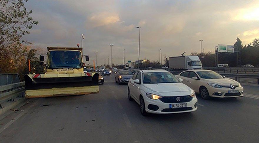 İstanbul'da beklenen kar yağışına karşı önlemler alındı