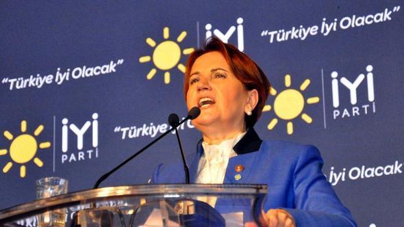 Akşener: MHP'nin değil, AK Parti'nin yerine gelmeyi hedefliyoruz
