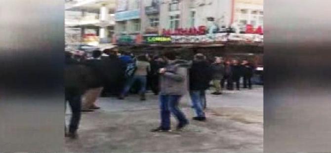 OHAL ve KHK protestosuna polis müdahalesi
