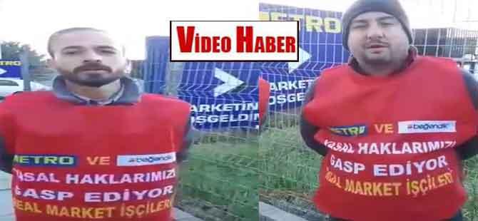 Real Market direnişçilerinden Taşdelen mağduru işçilere destek!