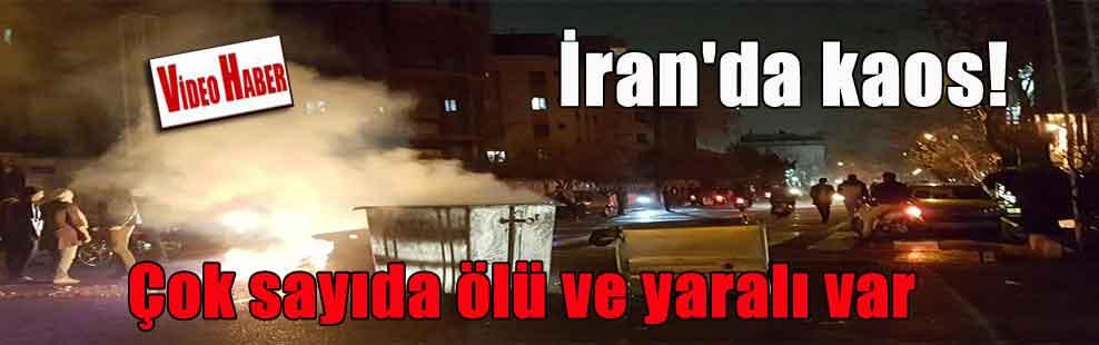 İran'da kaos! Çok sayıda ölü ve yaralı var
