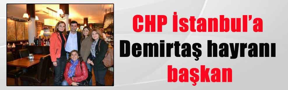 CHP İstanbul'a Demirtaş hayranı başkan