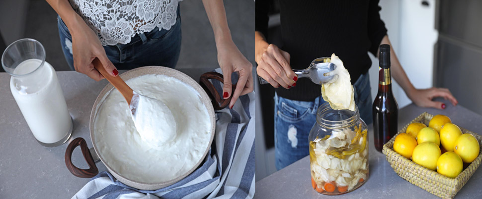 Gribe karşı doğal kalkan ev turşusu, yoğurdu ve şalgam