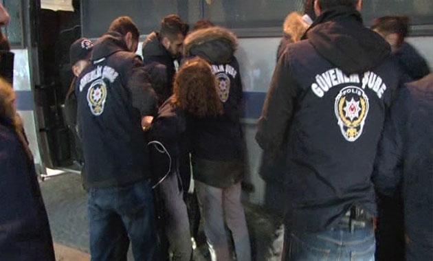 İran Başkonsolosluğu önünde polis müdahalesi: 15 gözaltı