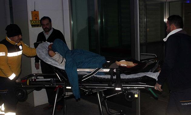 Karaman'da 'yan baktın' kavgası: 2 yaralı