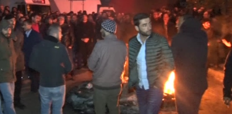 Nakliyeciler Sitesi'nde tahliye çalışması gerilimi