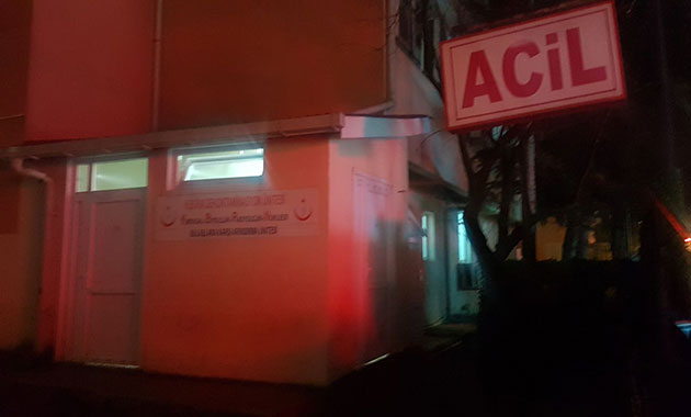 Biber gazından etkilenen 4 öğrenci 2 öğretmen hastaneye kaldırıldı