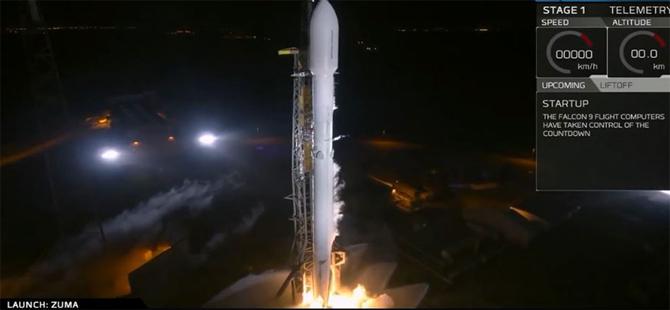 'ABD'nin uzaya gönderdiği uydu kayboldu' iddiası