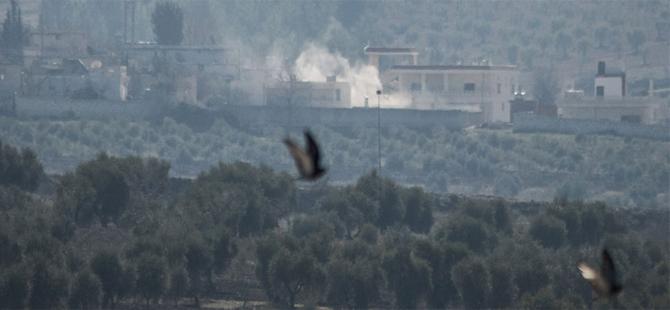 TSK, Afrin'i obüslerle bombaladı