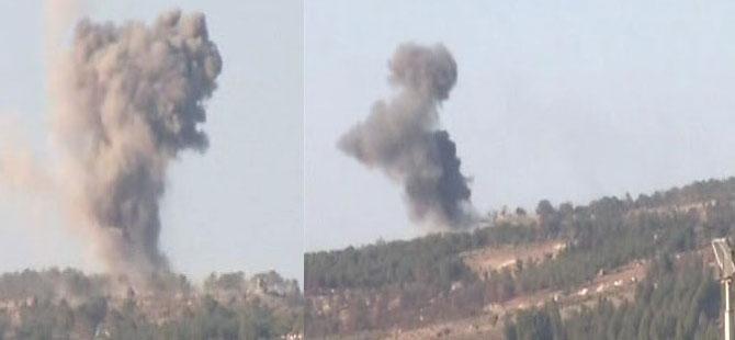 Afrin kırsalında çatışma: 5 Türk ve 5 ÖSO askeri yaralı