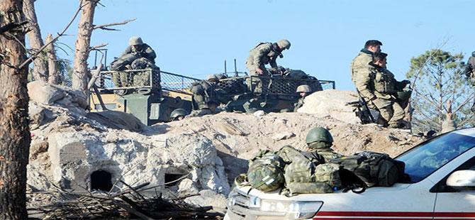 'Zeytin Dalı Harekatı'nda 11'inci gün; Burseya'dan sonra hedef Bafelyun Tepesi