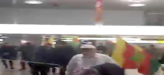 PKK'lılar havaalanındakilere saldırdı