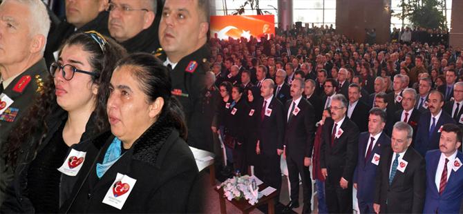 İzmir'de şehit polis Fethi Sekin ve mübaşir Musa Can anıldı