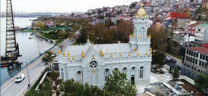 Demir Kilise açıldı!