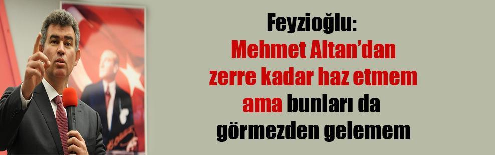 Feyzioğlu: Mehmet Altan'dan zerre kadar haz etmem ama bunları da görmezden gelemem