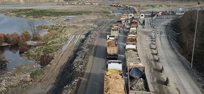 İstanbul'da hafriyat kamyonlarına büyük takip başlıyor