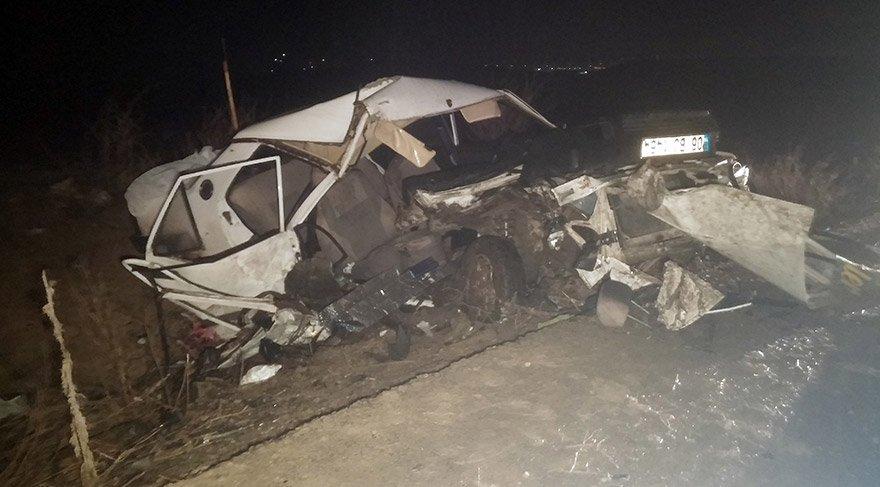 Başkentte feci kaza: 2 ölü, 4 yaralı