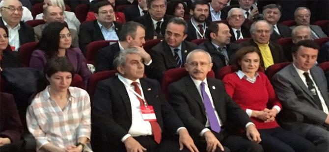 CHP İstanbul kongresinde Kaftancıoğlu'na protesto!
