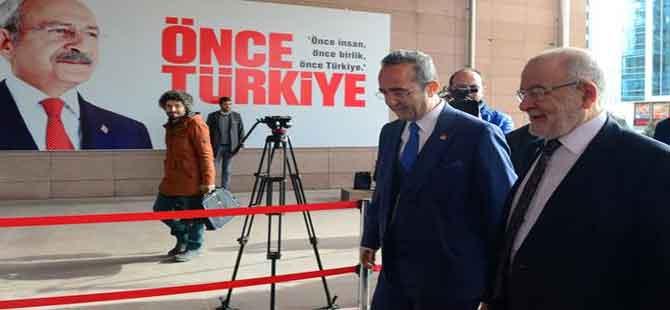 Karamollaoğlu CHP Genel Merkezi'nde