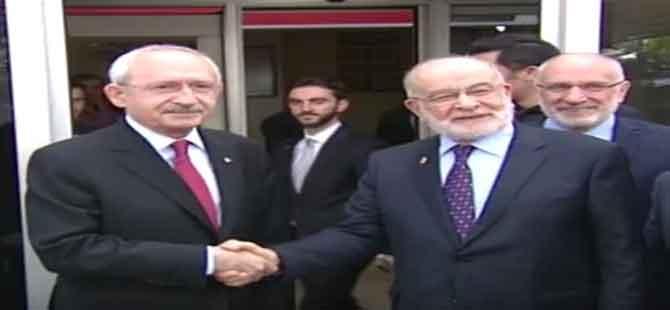SP Lideri Karamollaoğlu, Kılıçdaroğlu'nu ziyaret edecek!