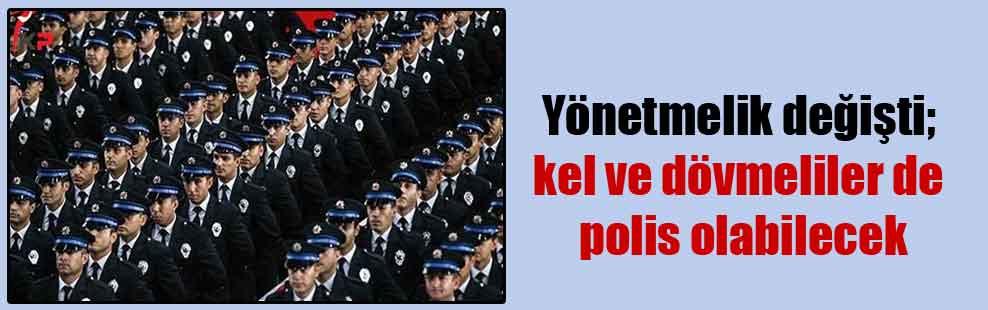 Yönetmelik değişti; kel ve dövmeliler de polis olabilecek