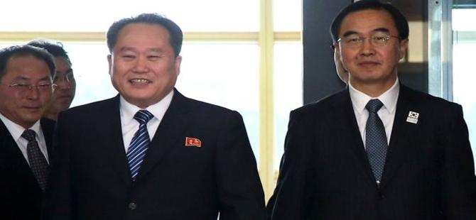 Kuzey Kore, Güney Kore'deki Olimpiyatlar'a katılıyor