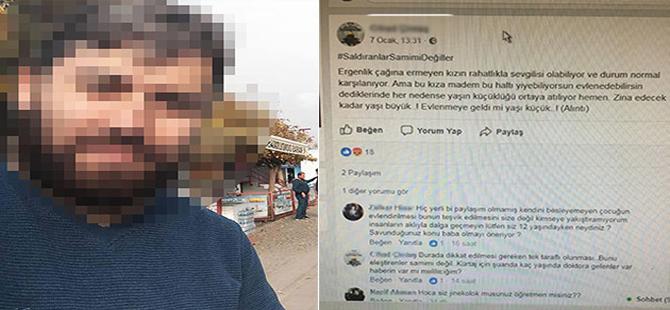 Tepki çeken bir sosyal medya mesajı da Tekirdağ'daki öğretmenden