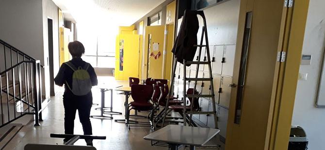 Okulun margarini bile haczedildi' iddiası