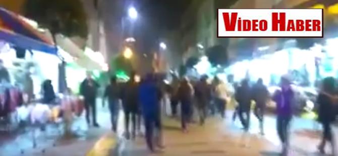 PKK yandaşları İstanbul sokaklarında Afrin karşıtı slogan attılar!