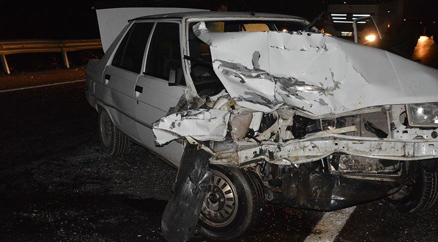 İzmir'de trafik kazası! Biri ağır 2 yaralı