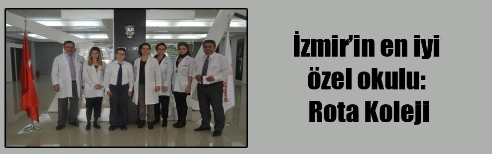 İzmir'in en iyi özel okulu: Rota Koleji