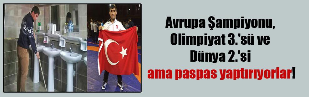 Avrupa Şampiyonu, Olimpiyat 3.'sü ve Dünya 2.'si ama paspas yaptırıyorlar!
