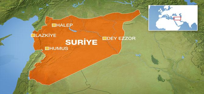 Suriye'de iki ayrı noktaya füze saldırısı