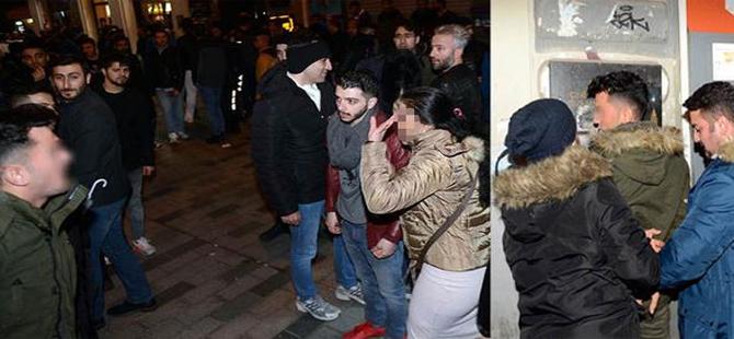 Taksim'de tacizciler kıskıvrak…