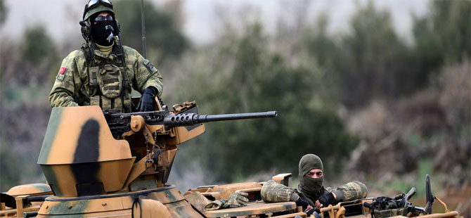 Zeytin Dalı Harekatı 4'üncü günde; Türk tankları, 'zırh delici' toplarla vuruyor