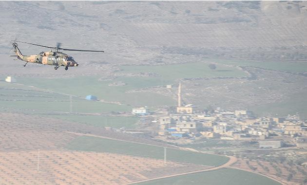 Darmık Dağı'nda yaralanan askerler hastaneye kaldırıldı