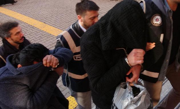 Karabük'te organize suç örgütü üyelerine 'Gölge' operasyonu